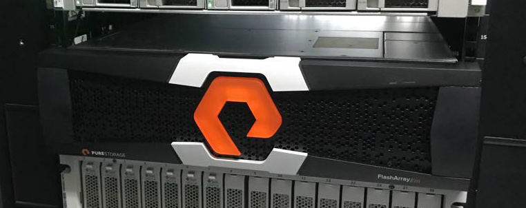Cabina Pure Storage m20